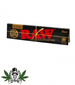 Raw Black King Size Slim Extra Fine