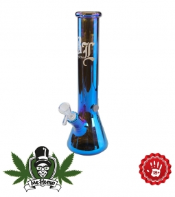 Black Leaf Neverland Bong rainbow effect