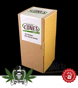 Cones Single Size Bio Organic Hemp 100..