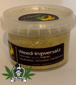 Weed ginger salt refill pack 200 grams