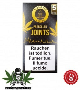 Starbuds Luzern Pre-Rolled Joint 5 varieties