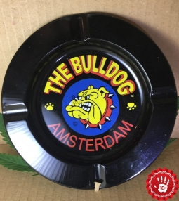Bull Dog Ashtray Amsterdam