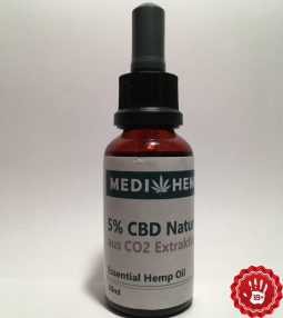 CBD oil extract 5% 10ml Nature
