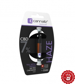 Cannaliz CBD E-Liquid cardridge Haze 7%