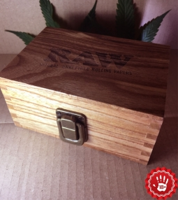 Raw Storage Box Wood