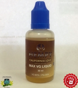 Hempy Indoor California Love Liquid Max VG