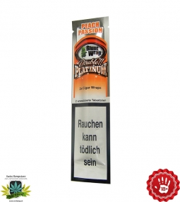 Peach Passion 2 Blunts in 1 Tube