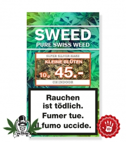 SWEED CBD Hemp flowers (Small Buds) 10g