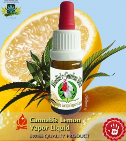 Merlins Garden liquid Cannabis Lemon