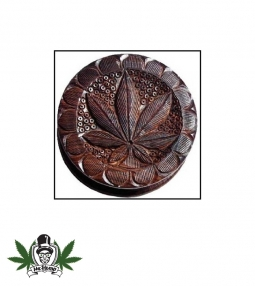 Hemp Leaf Wood Grinder