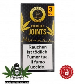 Starbuds Luzern Pre-Rolled Joint Lemon..