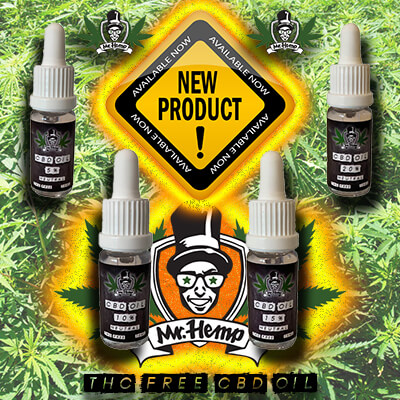 Huille CBD Mr. Hemp