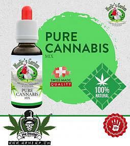 Merlins Garden Pure Cannabis Liquide 10ml sans CBD