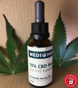 CBD oil extract 10% 30ml Nature