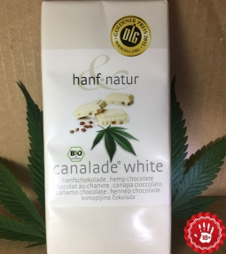 Cannalade white hemp chocolate