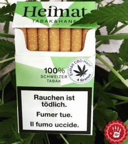 Heimat tobacco & hemp cigarettes