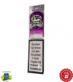 Grape-a-licious 2 Blunts in 1 Tube